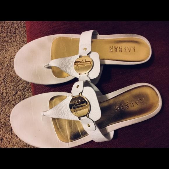 Polo Ralph Lauren Women Sandals Size 9b